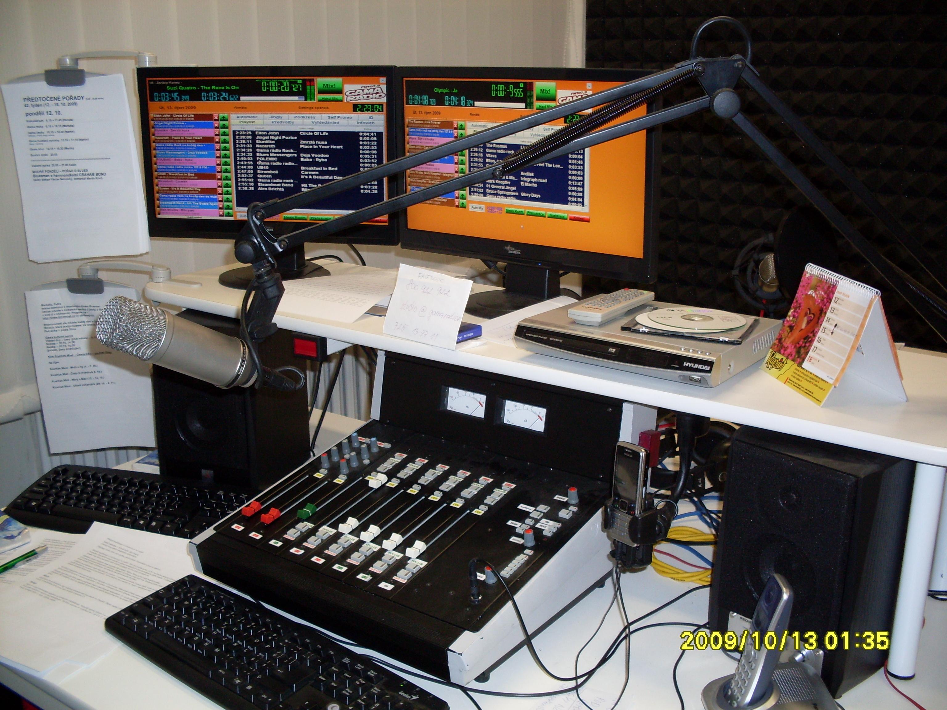 Nasazení systému Radio Profesional v GAMA Rádiu